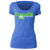 #WeMakeYouHot - G2OH Women's Tri-Blend Scoop Neck Tee